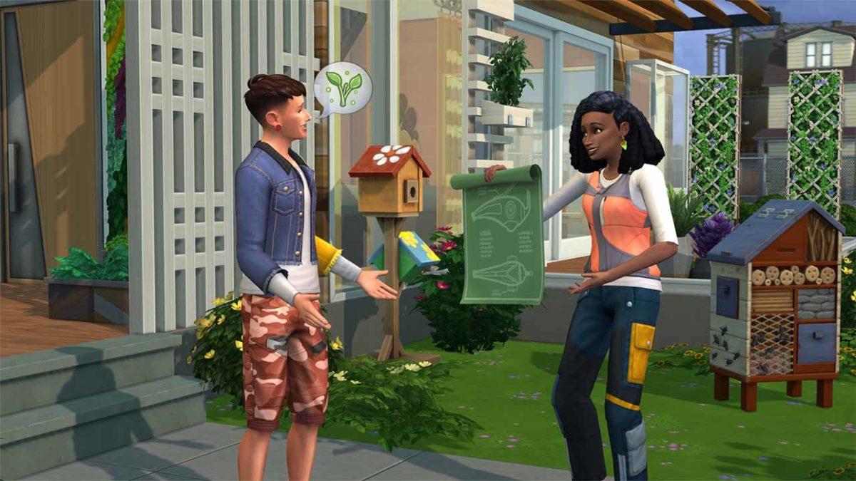 Присоединяйтесь к «The Sims 4 Экологичная жизнь Дополнение»