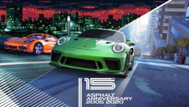 Photo of С 15-летием! Asphalt 8: Airborne и Asphalt 9: Legends – Эксклюзивный контент, игровые подарки и невероятные автомобили