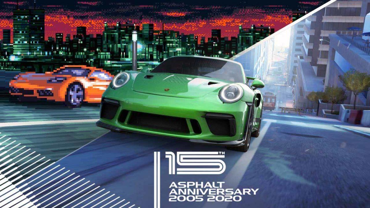 С 15-летием! Asphalt 8: Airborne и Asphalt 9: Legends - Эксклюзивный контент, игровые подарки и невероятные автомобили