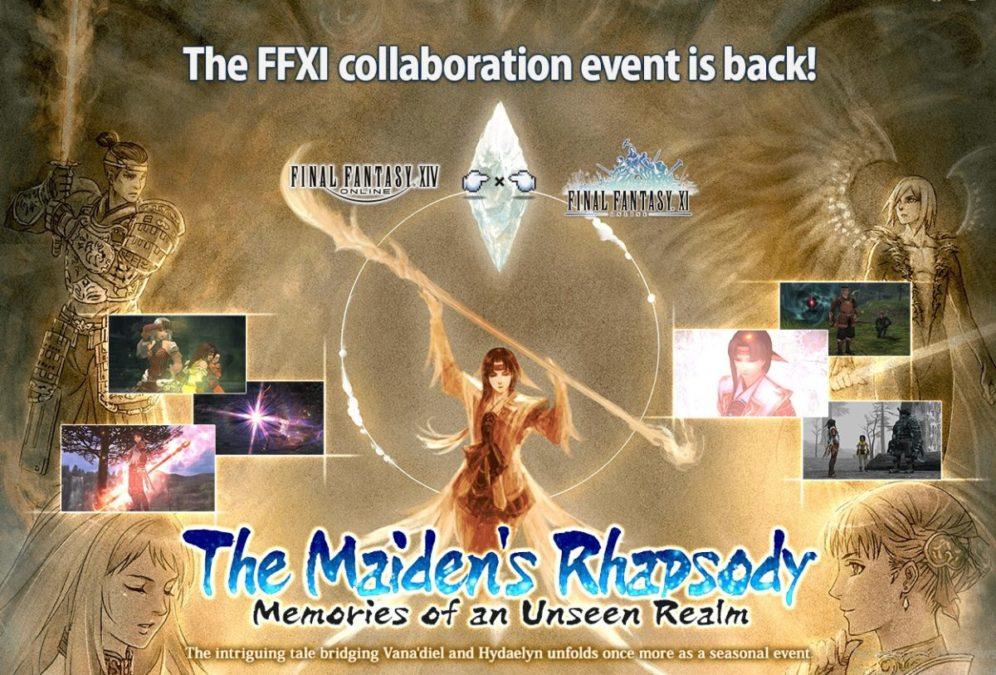 🎮 Миры FINAL FANTASY XIV Online и FINAL FANTASY XI Online объединились в течение ограниченного времени