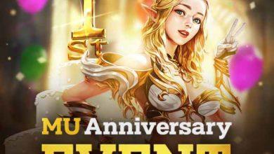 🎮 MU Origin 2 празднует свою 1-ю годовщину со специальными событиями