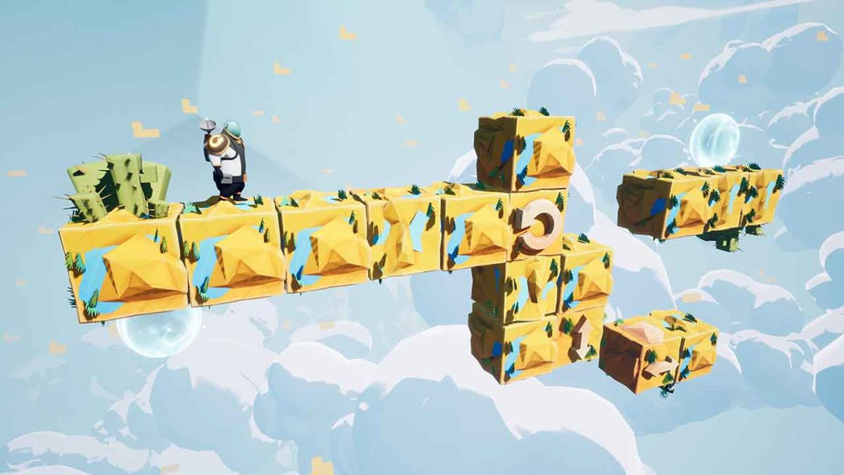 3D головоломка Minimal Move выходит на ранний доступ Steam