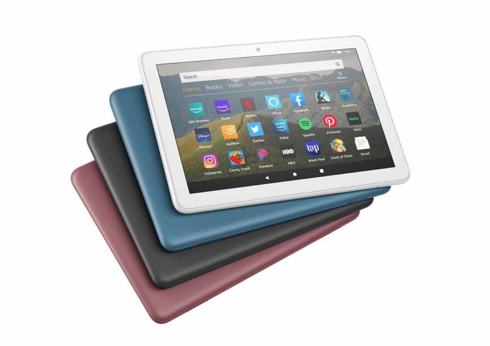 Amazon выпустил новые планшеты для всей семьи - новые версии Fire HD 8, Fire HD 8 Plus и Fire HD 8 Kids Edition
