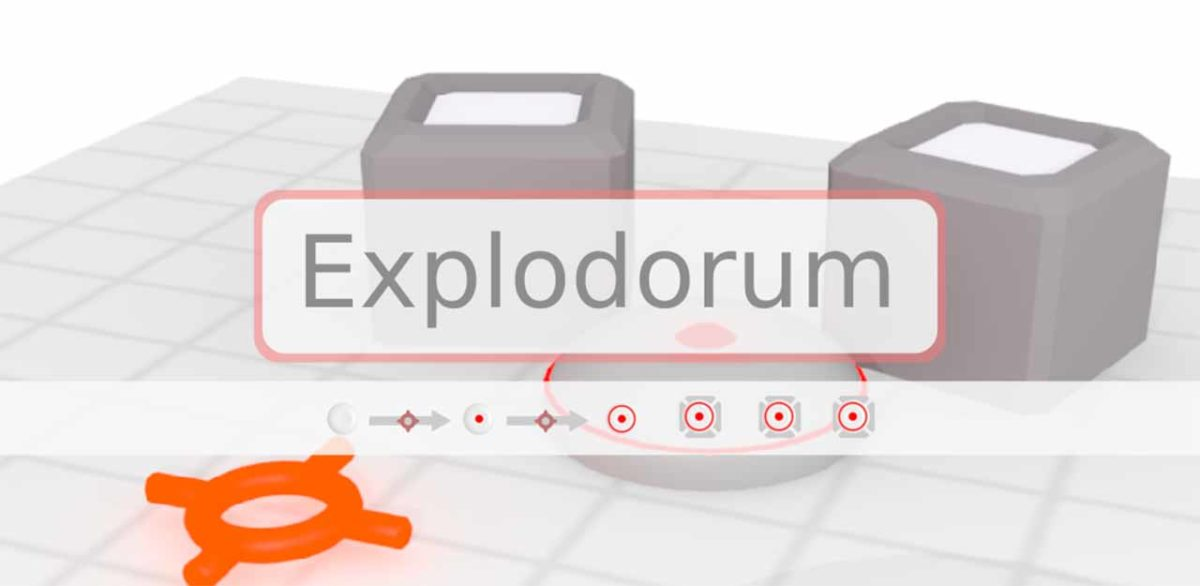 Explodorum - это сложная логическая головоломка со скользящей бомбой для Android