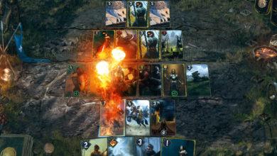 GWENT «ГВИНТ: Ведьмак. Карточная игра» теперь в Steam