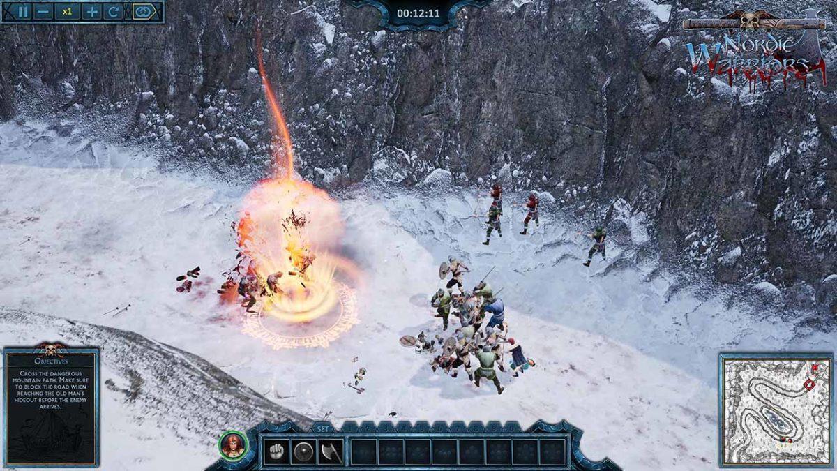 Nordic Warriors - это настоящий праздник для любителей тактических игр в реальном времени