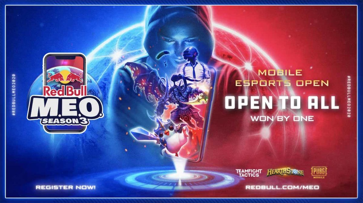 Red Bull Mobile Esports Open Season 3 (M.E.O.) возвращается с захватывающими мобильными играми