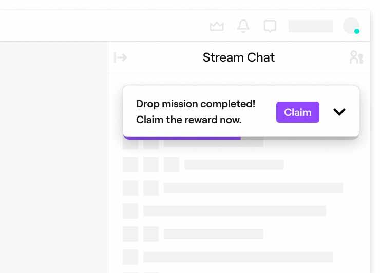 Вы также можете получить Drop на канале и связать свои учетные записи позднее.