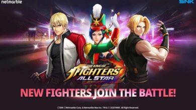 В игру The King of fighters ALLSTAR добавили 21 нового бойца
