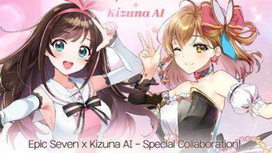 В Epic Seven можно бесплатно получать Kizuna AI и Free Spirit Tieria
