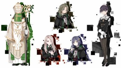 Знакомимся с персонажами Shizu, Bishop, Molly, Pick и Betty в Death end re;Quest 2