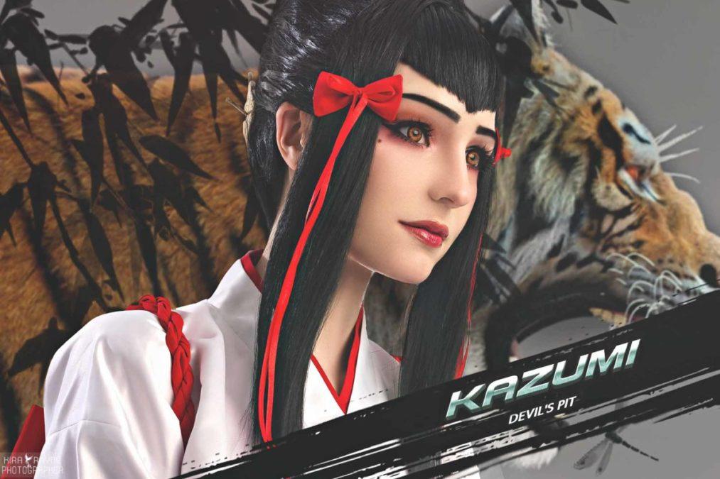 Косплей TEKKEN 7 (Kazumi Mishima) – Keiko Furi