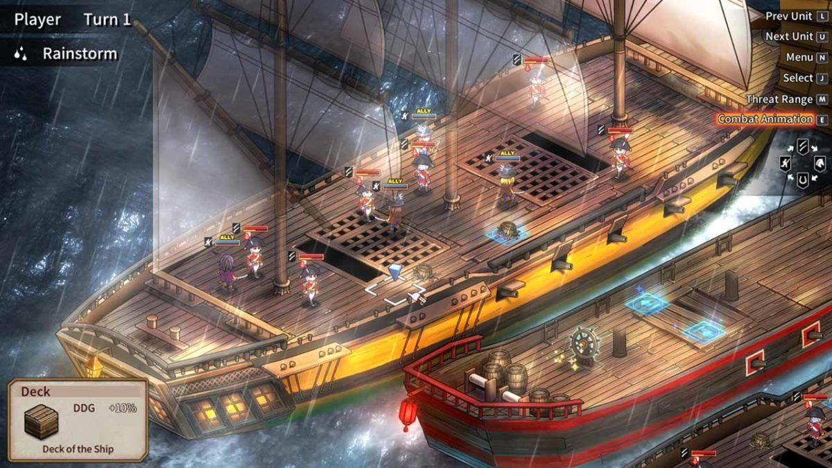 К Banner of the Maid - The Oriental Pirate стал доступен геймплейный трейлер