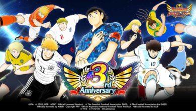 Начинается 3-я годовщина в Captain Tsubasa: Dream Team