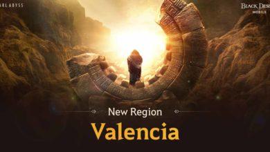 Photo of Новый регион Валенсия прибыл в Black Desert Mobile