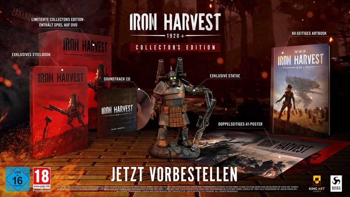 Новый трейлер Iron Harvest, и первый взгляд на коллекционное издание