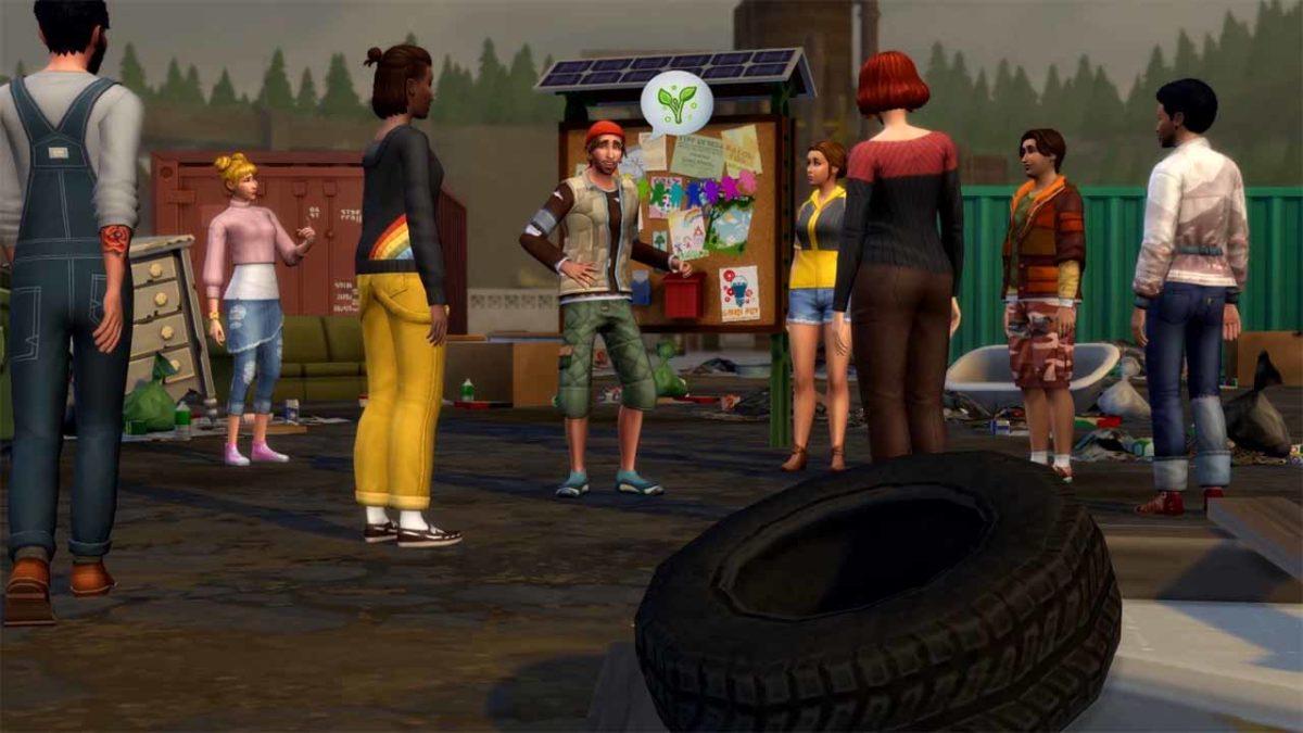 Пришло время переезжать в Эвергрин-Харбор! «The Sims 4 Экологичная жизнь Дополнение» уже доступно