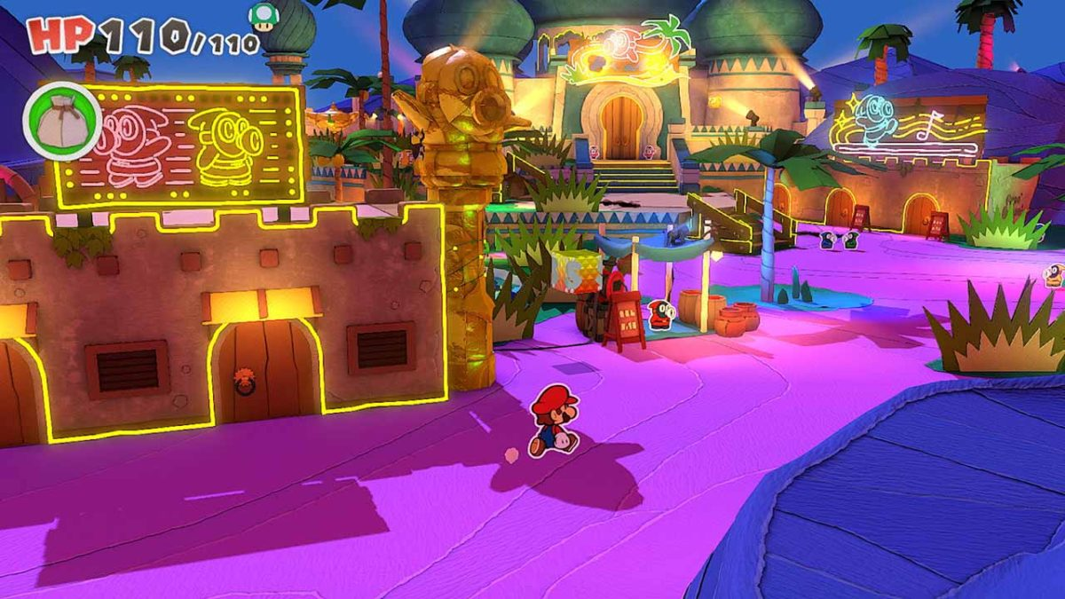 Хитрые компаньоны и умные детали боя, представленные для Paper Mario: The Origami King на Nintendo Switch в новом трейлере