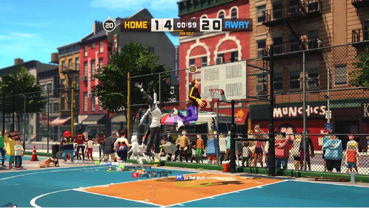 3on3 FreeStyle: Rebound выйдет во всем мире в Steam в июле