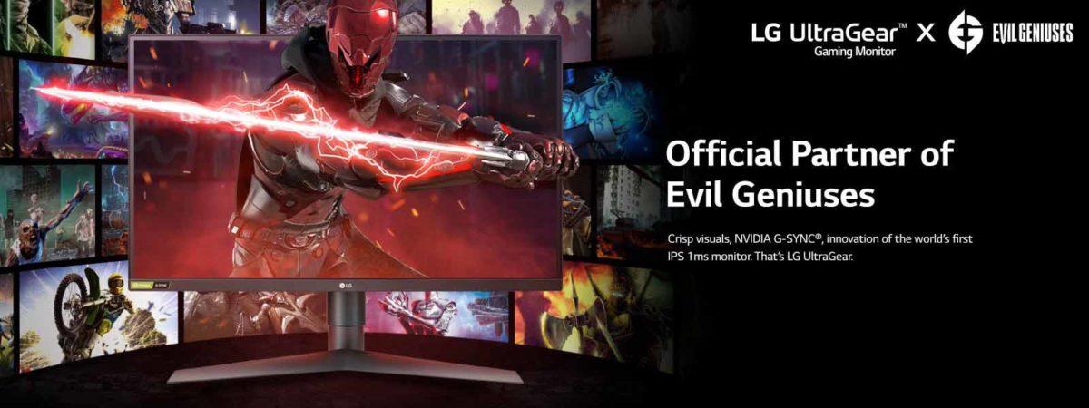 LG начала партнерство с киберспортивной организацией Evil Geniuses