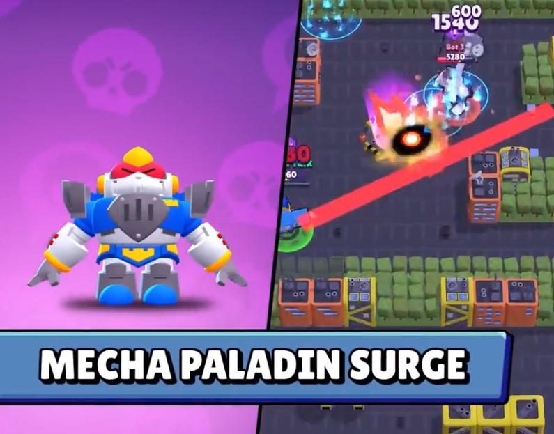 Mecha Paladin Surge
