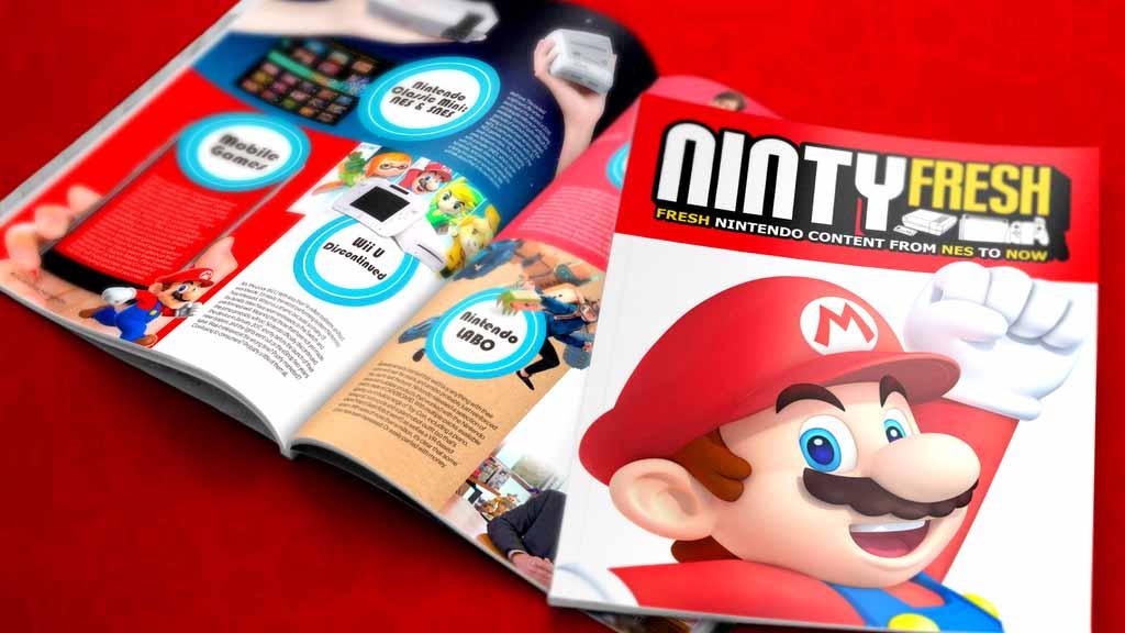 Ninty Fresh - неофициальный печатный журнал Nintendo