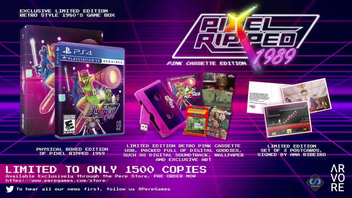 Pixel Ripped 1989 получит ограниченное издание Pink Cassette Physical Edition