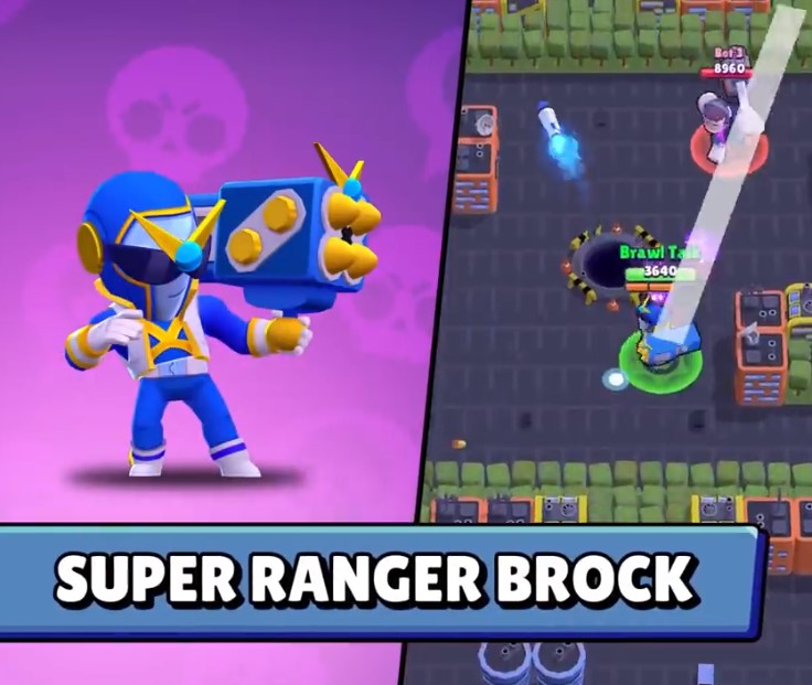 Super Ranger Brock