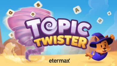 Вам нравятся буквы, кроссворды и поиски слов? Тогда игра Topic Twister для вас