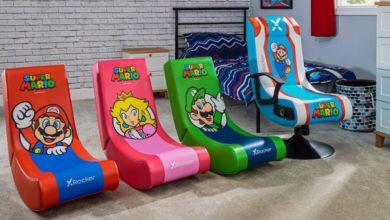 В продажу поступят лицензированные игровые стулья Super Mario