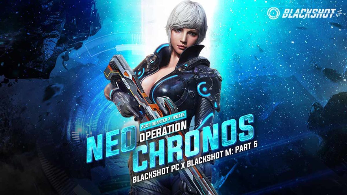 В BlackShot, с Operation Neo Chronos: этап 5, появились новые позывные, скины и Ванесса Нео