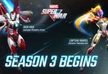 Photo of В MARVEL Super War 3 сезон начинается с оригинальной космической брони для Iron Man и Captain Marvel