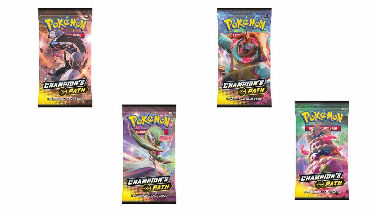 Коллекционная карточная игра Pokémon - путь Чемпиона