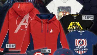 К выходу Marvel's Avengers выпустили футболки, толстовки, кепки и кошельки