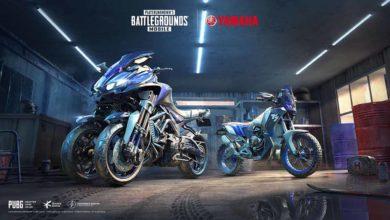 Эксклюзивные мотоциклы Yamaha теперь доступны игрокам PUBG MOBILE