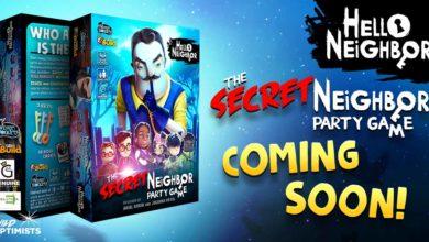 Настольная игра Hello Neighbor: The Secret Neighbor Party Game выйдет в октябре