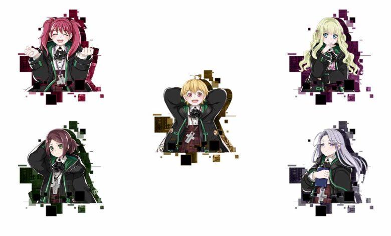Персонажи Christina, Paula, Collette, Elizabeth и Mercy в игре Death end re;Quest 2