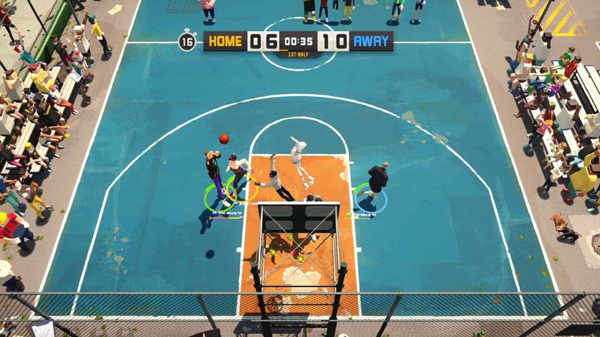 Погрузитесь в динамичный мир уличного баскетбола вместе с 3on3 FreeStyle: Rebound в Steam