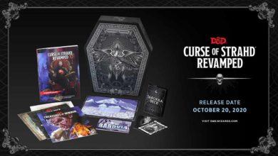 Представлено коллекционное издание Dungeons & Dragons: Curse of Strahd Revamped