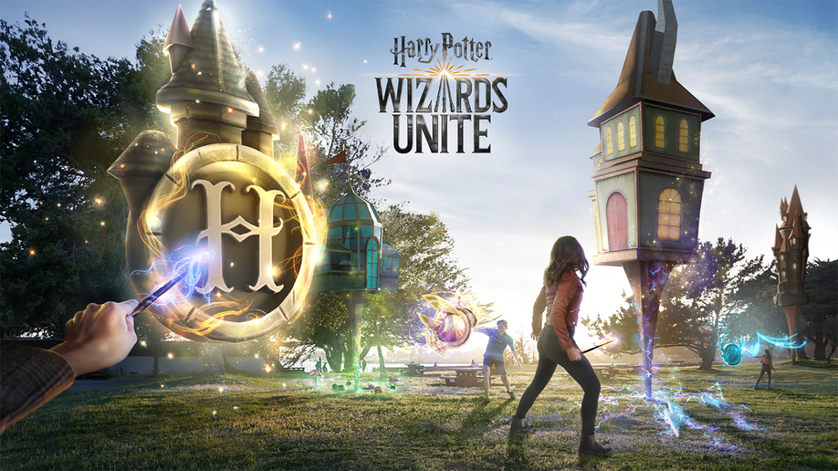 Design Glory: Harry Potter: Wizards Unite AR-игры