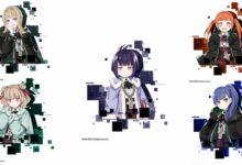 Photo of Скриншоты подземелий и новые персонажи Abigail, Cera, Sarah, Anne и Marie для игры Death end re;Quest 2