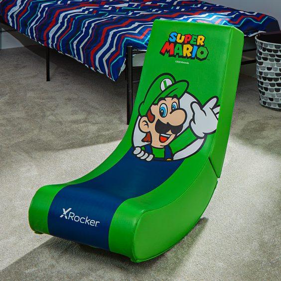Лицензированные игровые стулья Super Mario