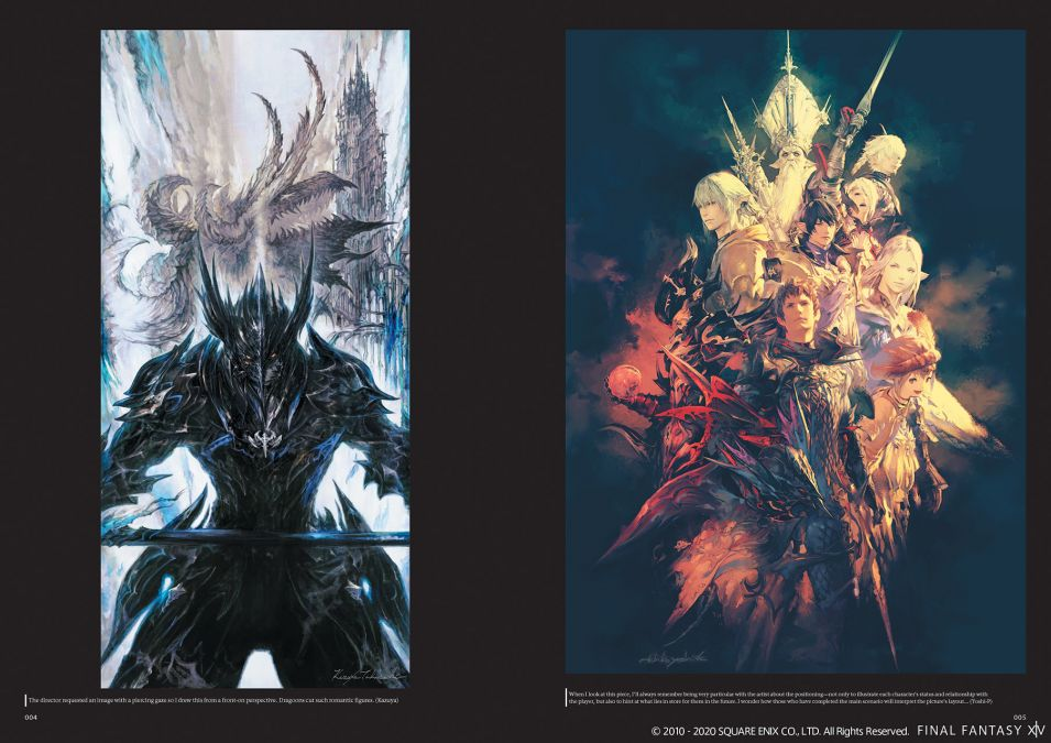 FINAL FANTASY® XIV: HEAVENSWARD™ | THE ART OF ISHGARD - THE SCARS OF WAR - [ARTBOOK]