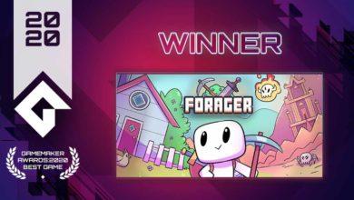 Photo of Forager признана «Лучшей игрой 2020 года» в первом конкурсе GameMaker