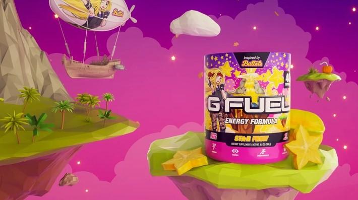 G FUEL и NoisyButters выпустят звездный фруктовый вкус «Star Fruit» 15 июля