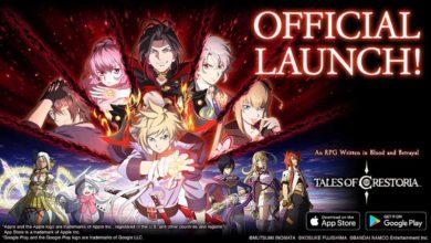 Tales of Crestoria доступна для бесплатной загрузки через App Store и Google Play