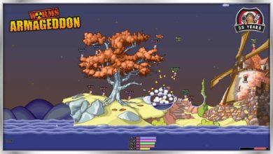 Worms Armageddon получил огромный бесплатный патч, чтобы отпраздновать 25-ю годовщину Worms