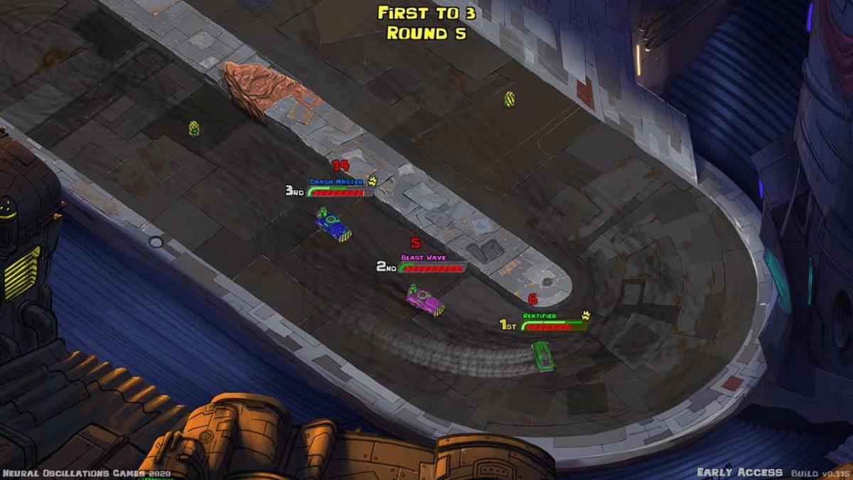 Первое большое обновление для Road Rage Royale доступно в Steam