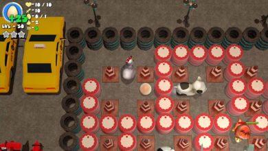 Управляй курицей и взрывай других в Chicken Bomb