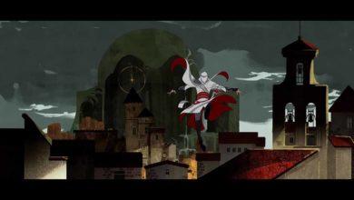 Эцио (Ezio) из Assassin's Creed совершает прыжок веры в AFK Arena